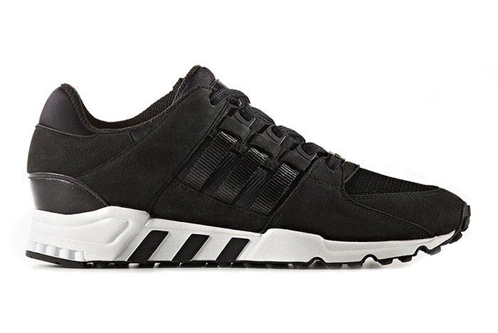 Adidas Eqt Support Black White 1