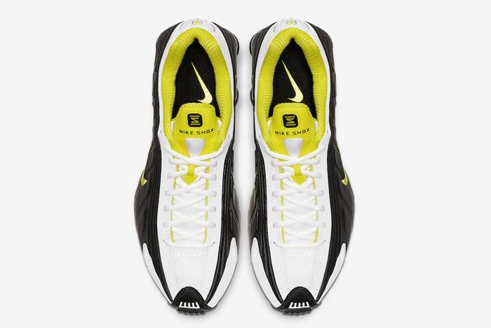 Nike Shox R4 Dynamic Yellow Top