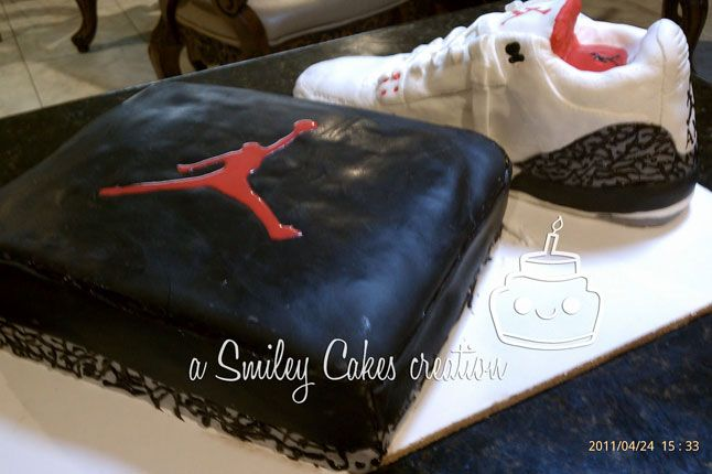 Sneaker Freaker Sneaker Cakes Air Jordan 3 02 1