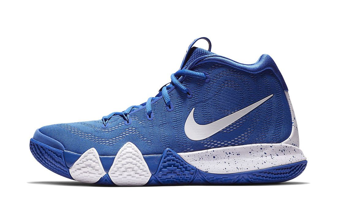 Kyrie 4 Team Royal Nike Under Armour Basketball Under Retail Sale April 2019