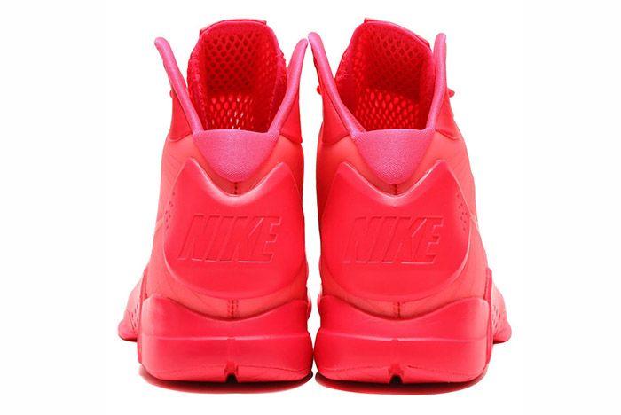 Nike Hyperdunk 2008 Retro Neon Pack Solar Red 2