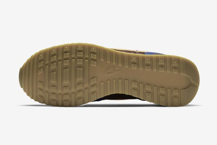 Nike Air Vortex Blue Brown Outsole