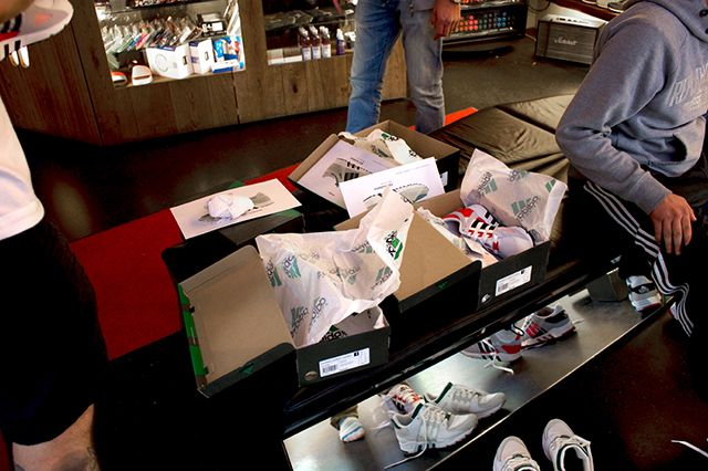 Adidas Eqt And Snkr Frkr Montana Cans Launch At Overkill Recap 12