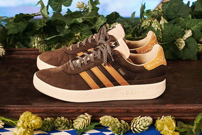 Adidas Munchen Made In Germany Oktoberfest Brown Lateral