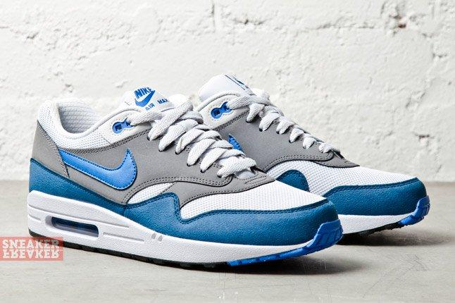 Nike Air Max 1 Essential Geyser Grey Pirze Blue 2