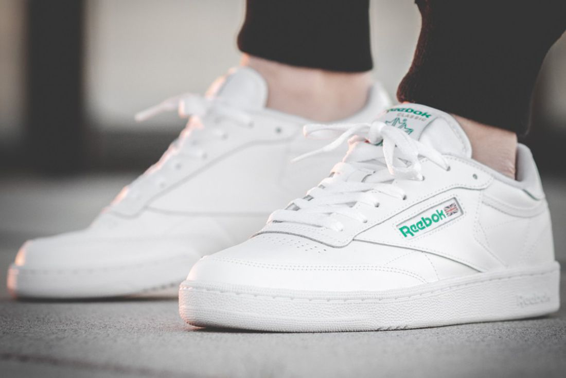 Reebok Club C 85 White Green3