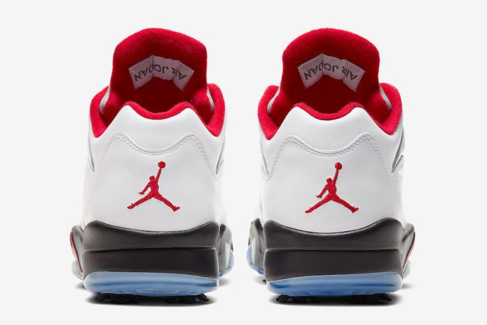 Air Jordan 5 Low Golf Fire Red Cu4523 100 Release Date Price 5 Official