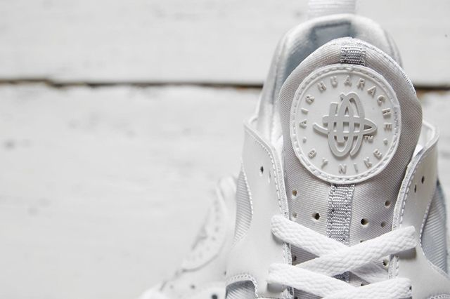 Nike Air Trainer Huarache Low White White 3