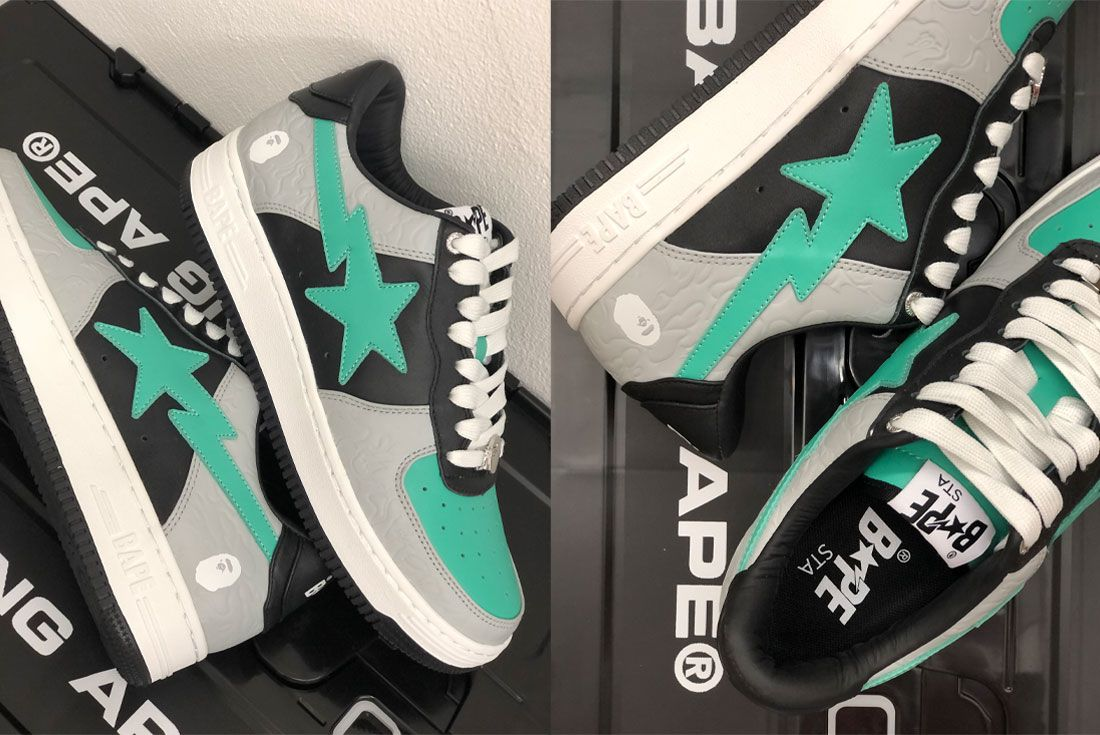 BAPE STA Grey Green