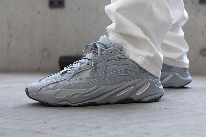Yeezy 700 V2 Hospital Blue On Foot4