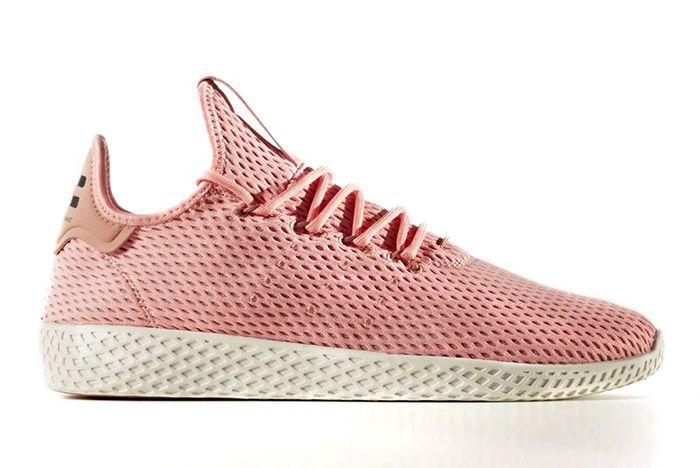 Pharrell Williams Adidas Tennis Hu Pink