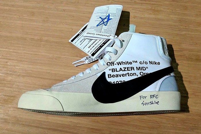 Off White X Nike Blazer 1