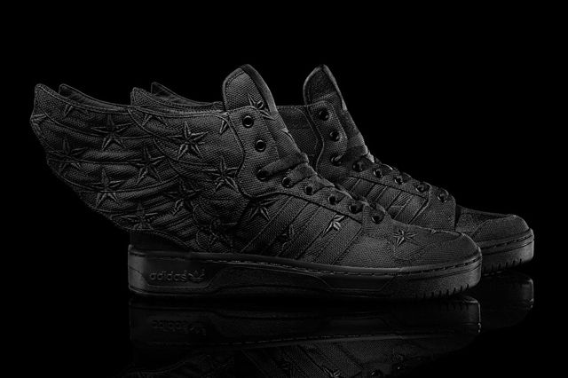 Asap Rocky Jeremy Scott Adidas Originals Js Wings 2 Black Flag 10