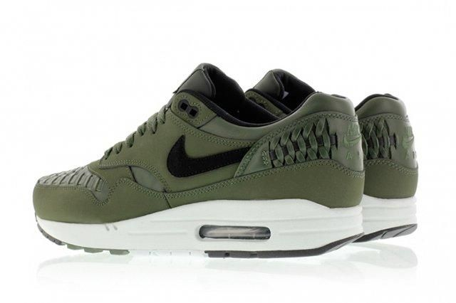 Nike Air Max 1 Woven Carbon Green 3