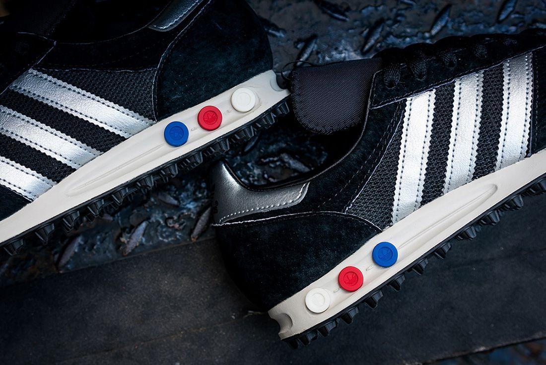 Adidas Consortium La Trainer Og Mig Black Silver11