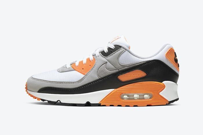 Nike Air Max 90 Total Orange Lateral
