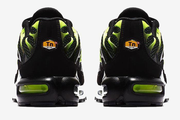 Air Max Plus Volt Green Black 2