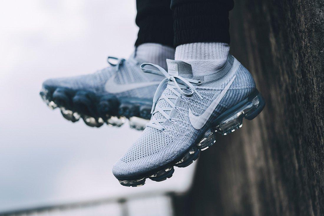 Nike Air Vapormax Pure Platinum On Feet 10