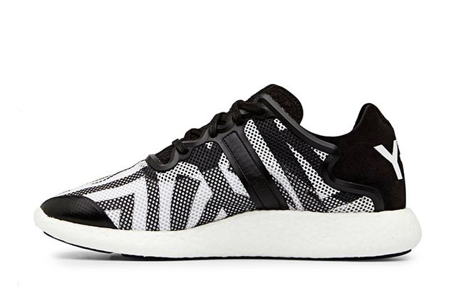Y 3 Yohji Boost Black And White 5