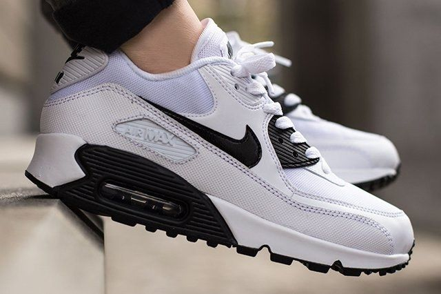 Nike Air Max 90 White Black Thumb