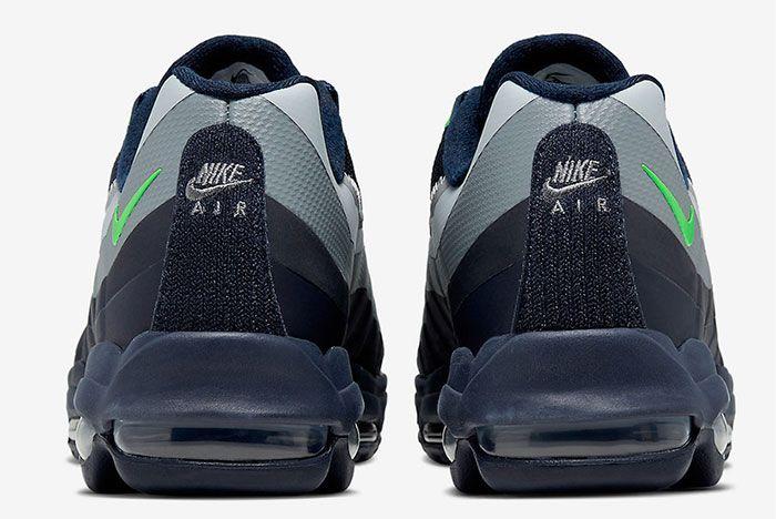 Nike Air Max 95 Ultra Seattle Seahawks Heel