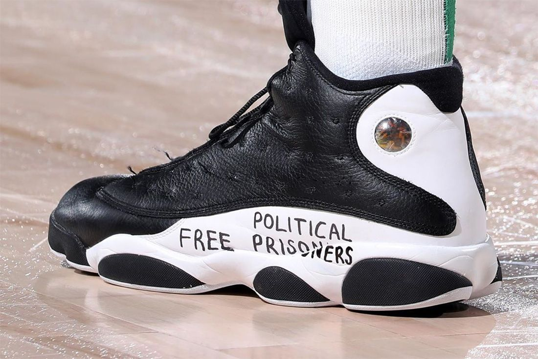 air jordan 13 nba finals free political prisoners