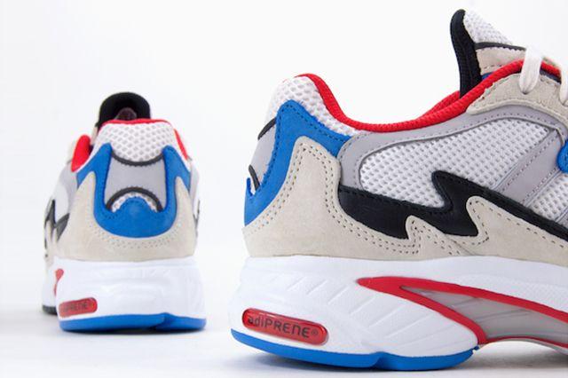 Adidas Originals Temper Run Red White Blue 5