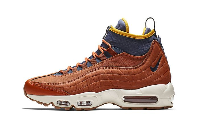 Nike Air Max 95 Sneakerboot Dark Russet 1