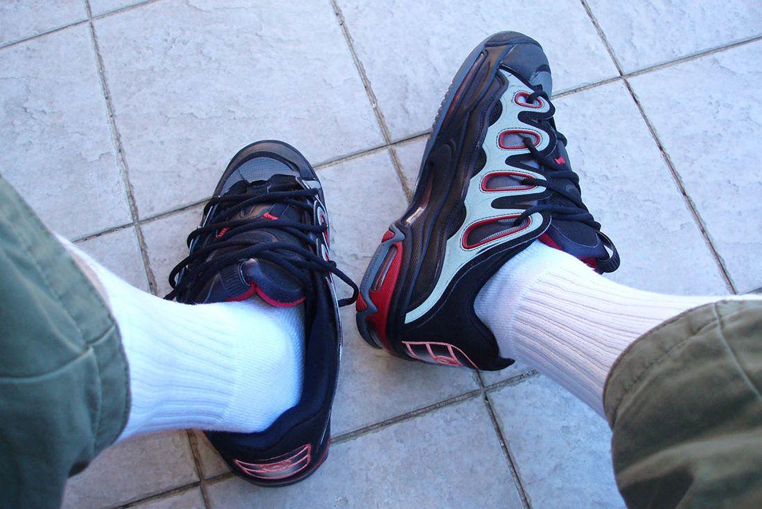 osiris d3 2001 on foot