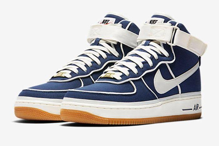 Nike Air Force 1 Blue White Gum