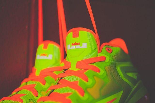 Nike Lebron 11 Low Gs Electric Green 4
