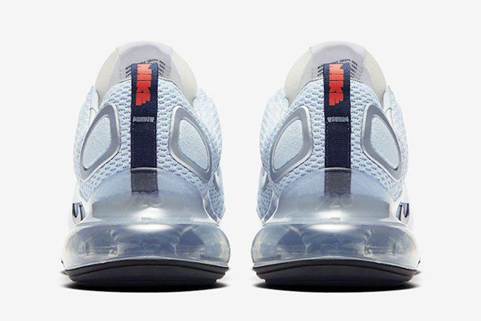 Nike Air Max 720 Waffle Ck5033 400 Heel Shot