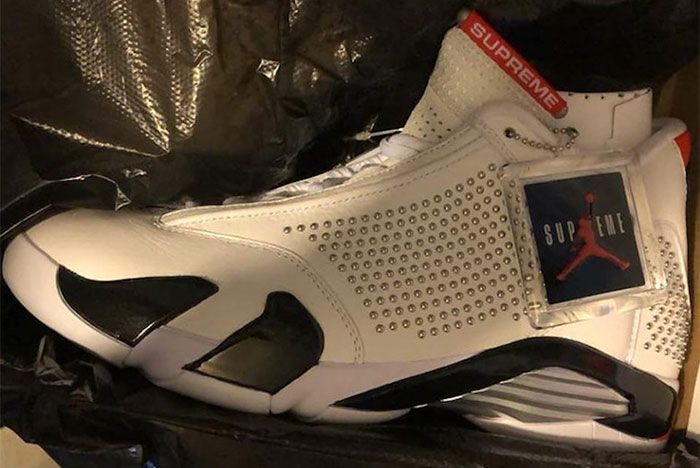 Supreme Air Jordan 14 Release Date 01 Leaked Shot