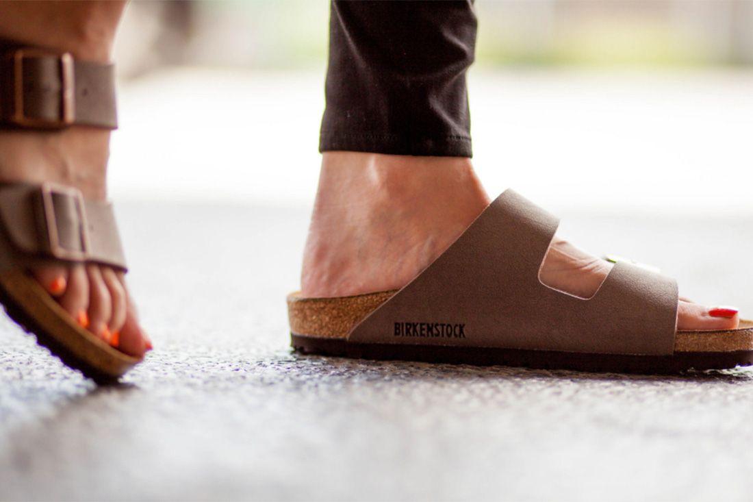 Birkenstock On Feet Cork Material Matters Feature