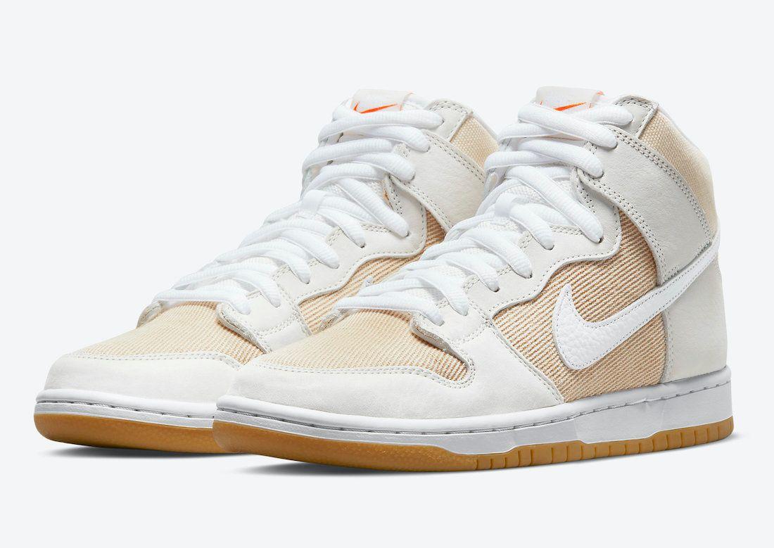 Nike SB Dunk High Unbleached