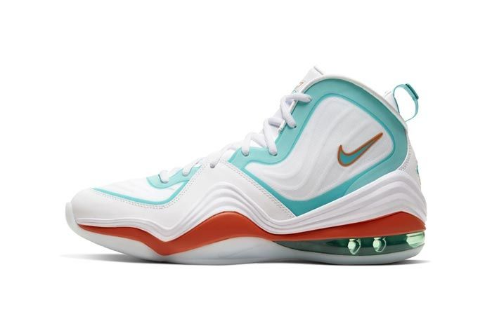 Nike Air Penny 5 Miami Dolphins Lateral