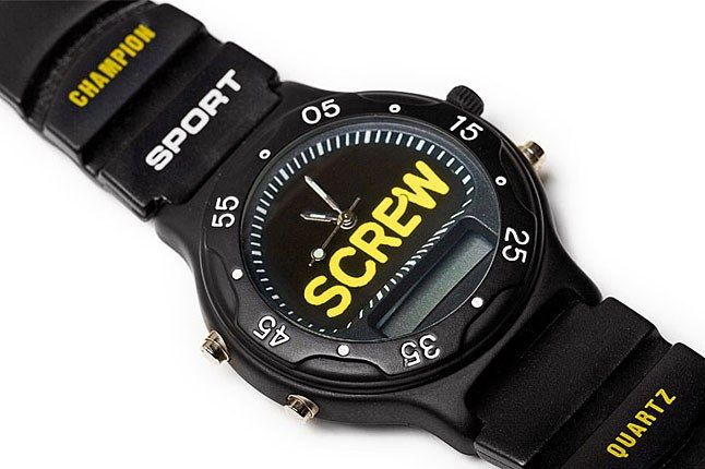 Screw Watch 1