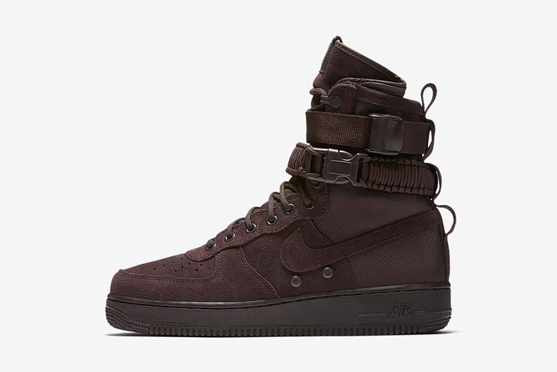 Nike Sf Air Force 1 Velvet Brownfeature