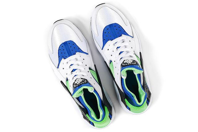 Nike Air Huarache Og Scream Green 2014 Retro 71