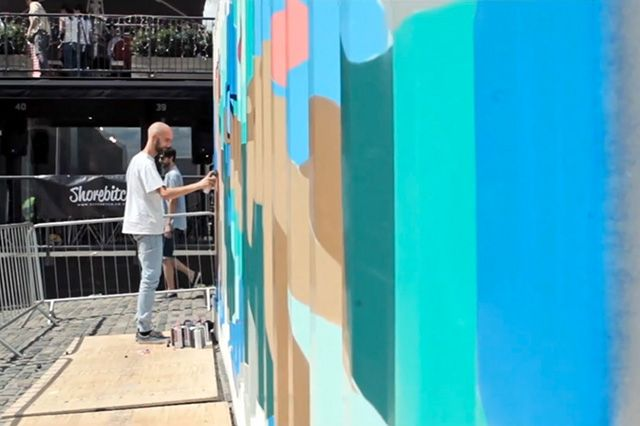 Boxpark Live Graffiti– Sobek Sicks Ha 2