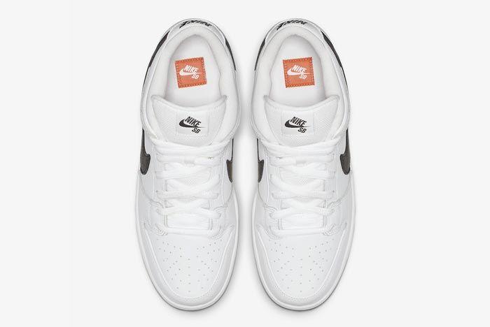 Nike Sb Orange Label Dunk White Gum Top