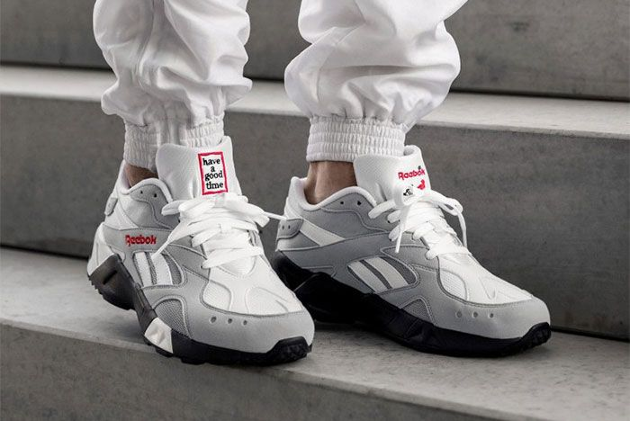 Have A Good Time Reebok Aztrek Pair