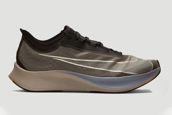 Nike Zoom Fly 3 Grey Lateral