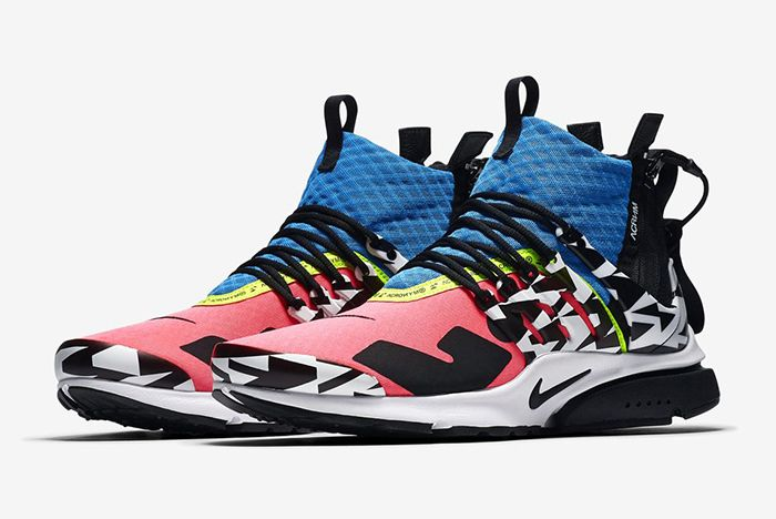 Acronym Nike Air Presto Mid Racer Pink Photo Blue 1