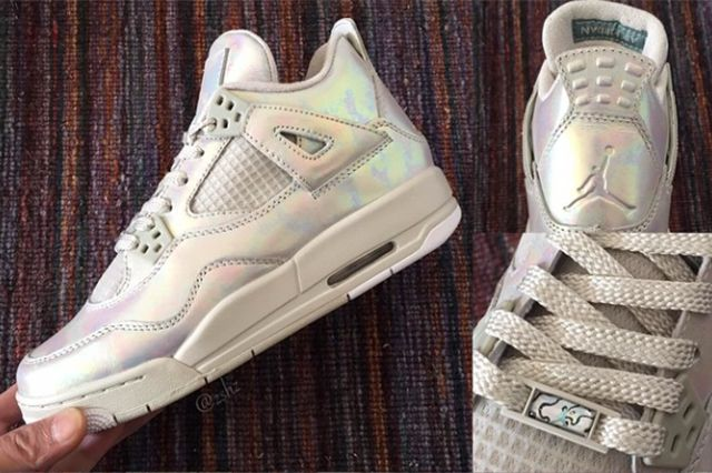 Air Jordan 4 Gs Pearl 1