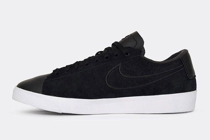 Nike Blazer Low Wmns Black Paris Fashion Week 1