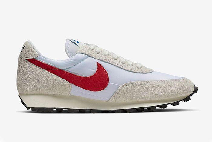Nike Daybreak White University Red Right