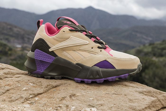 Reebok Trail Aztrek Tan Pink Purple 2019 Release Date Hero