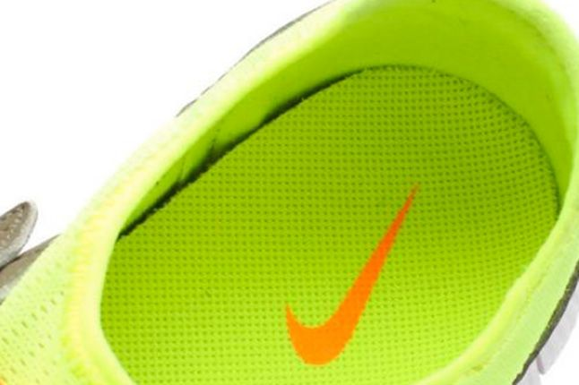 Nike Free Sock Racer Candy Pack Volt Insole 1