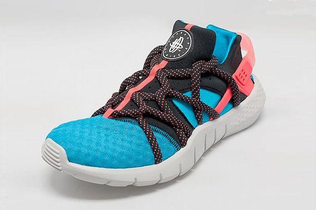 Nike Huarache Nm Blue Crimson 2